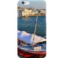 Mykonos  Harbor iPhone Case/Skin