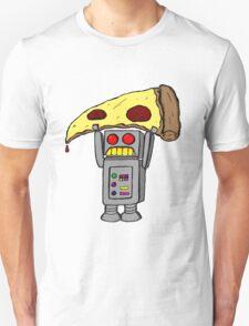 Pizza Robot (Color) Unisex T-Shirt