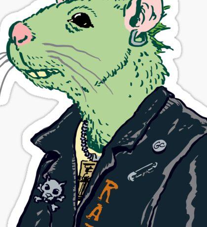 Rat Punk™ (Vile Green) Sticker