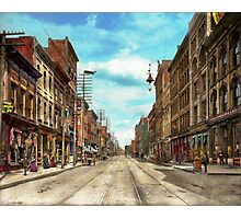 City - Knoxville TN - Gay Street 1903 Photographic Print