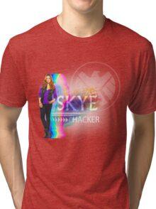 Multi-Color Hacker Skye Tri-blend T-Shirt