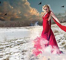 Snow Goddess by MykeDee