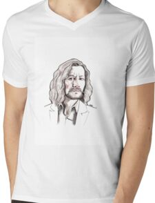 Sirius Black Mens V-Neck T-Shirt