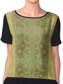 Ornamental Textiles- Dreaming of Da Vinci Chiffon Top