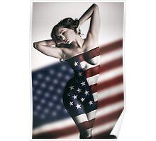 American Girl Poster