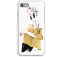 In Yellow  iPhone Case/Skin