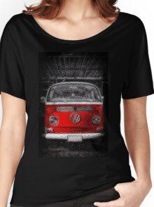 Red combi Volkswagen Half Tone Women's Relaxed Fit T-Shirt