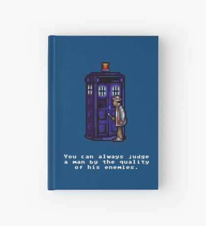Time And Relative Pixels: Seventh Doctor Hardcover Journal