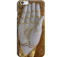 Big Buddha hand iPhone Case/Skin
