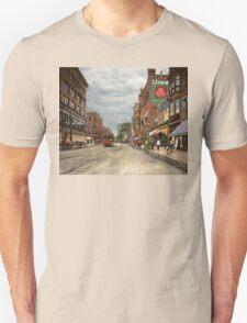 City - Lowell MA - A dam good company 1908 T-Shirt