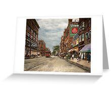 City - Lowell MA - A dam good company 1908 Greeting Card
