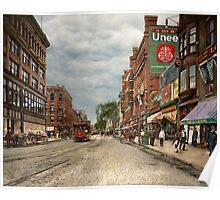 City - Lowell MA - A dam good company 1908 Poster