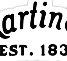 Martin & Co Sticker