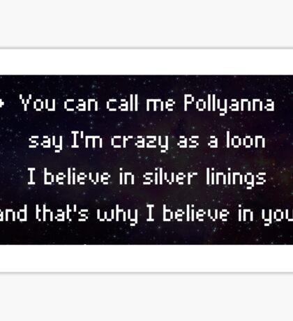 Pollyanna Sticker
