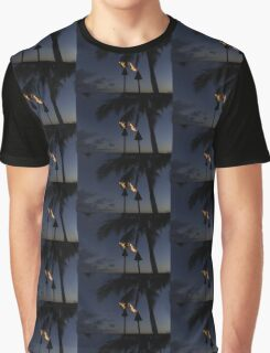 Just After Sunset, the Beach Party is Starting... Graphic T-Shirt