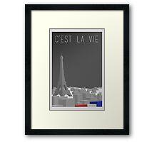 Cest La Vie Framed Print