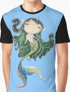 a lovely mermaid Graphic T-Shirt