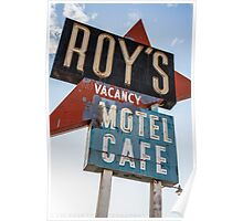 Roy's Cafe Poster