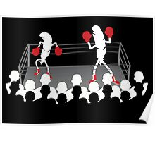 Featherweight boxers Poster