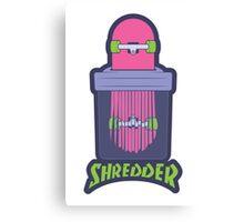Shredder Canvas Print