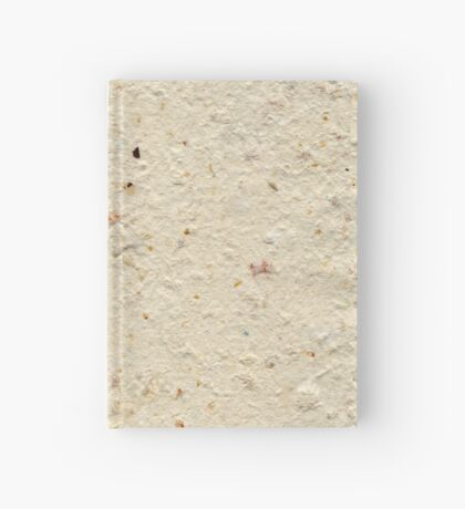 Homemade Paper from Orange Peel and Recycled Paper Hardcover Journal