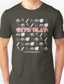 Let's Play Red T Shirt T-Shirt