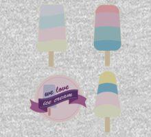 We love ice cream Kids Tee