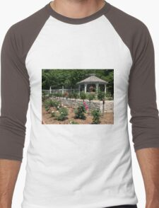 Rose Garden Men's Baseball ¾ T-Shirt