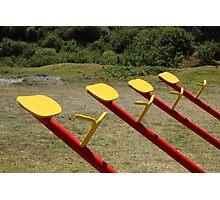 Playground Equipment Photographic Print