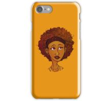 girl i saw on the train iPhone Case/Skin