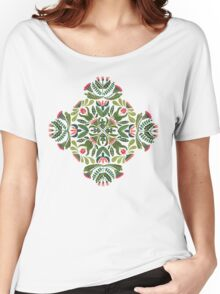 Little red riding hood - mandala pattern Women's Relaxed Fit T-Shirt