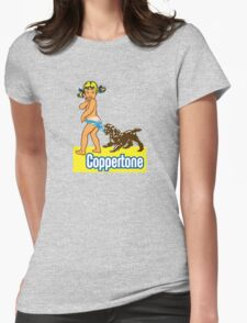 COPPERTONE Womens Fitted T-Shirt