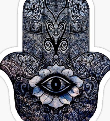 Peaceful Hand Sticker