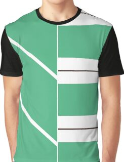 Schweet Racing Stripes Graphic T-Shirt