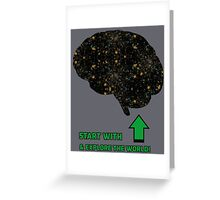 Explore the World! Greeting Card