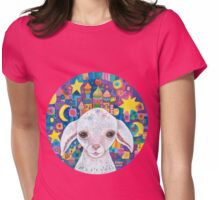Priscilla, Princess of Baa Castle Womens Fitted T-Shirt