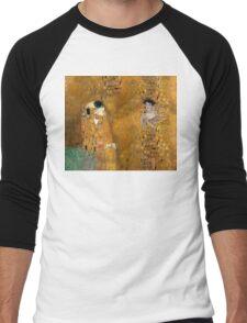 Klimt -  Woman in Gold - The Kiss Men's Baseball ¾ T-Shirt