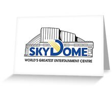 Vintage SkyDome Graphic Greeting Card