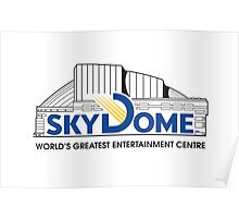 Vintage SkyDome Graphic Poster