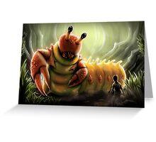 Crabapillar Greeting Card