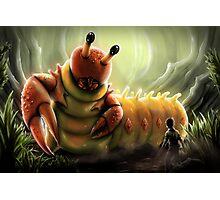 Crabapillar Photographic Print