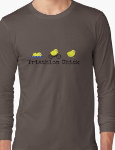 Triathlon Chick Long Sleeve T-Shirt