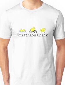Triathlon Chick Unisex T-Shirt