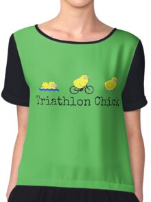 Triathlon Chick Chiffon Top