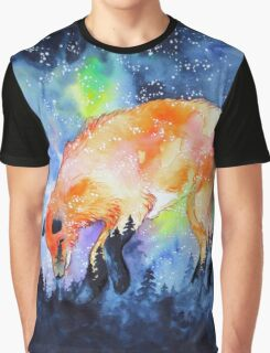 Fox Constellation Graphic T-Shirt