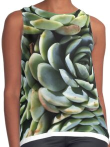 World Of The Succulent Contrast Tank