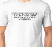forgive yourself Unisex T-Shirt