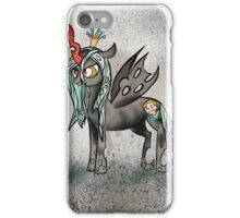 Queen Chrysalis With a Pip Boy Cutie Mark iPhone Case/Skin