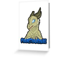 Paarthurnax Badge Greeting Card