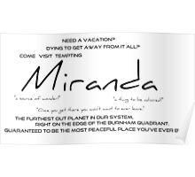 Planet Miranda Poster